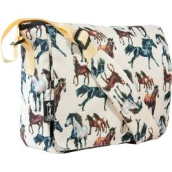 Wildkin Horse Dreams 13 Inch x 10 Inch Messenger Bag