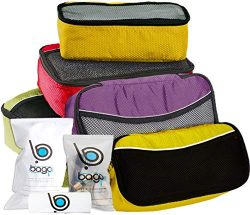 Bago 5 Set Packing Cubes For Travel – Luggage & Bag Organizer – Pack Like a Pro