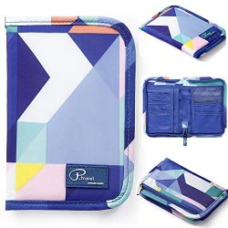 Passport Wallet Holder for Men&Women,RFID Blocking Travel Waterproof Credit Card&Money B ...