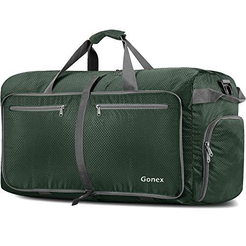 Gonex 150L Extra Large Duffle Bag, Packable Travel Luggage Shopping XL Duffel Deep Green