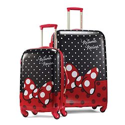 American Tourister Kids' 2 Pc (21/28), Minnie Mouse Red Bow