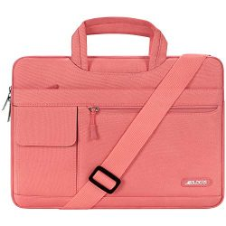 MOSISO Laptop Shoulder Bag Compatible 13-13.3 Inch MacBook Pro, MacBook Air, Notebook Computer,  ...