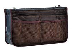 Purse Organizer,Insert Handbag Organizer Bag in Bag (13 Pockets 15 Colors 3 Size) S