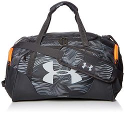 Under Armour Undeniable Duffle 3.0 Gym Bag, Pitch Gray//Mod Gray, One Size Fits All