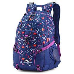 High Sierra Loop Backpack, Triangle Party/Tru Navy/Hyacin