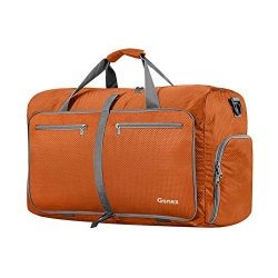 Gonex 40L Packable Travel Duffle Bag for Boarding Airline, Lightweight Gym Duffle Water Repellen ...