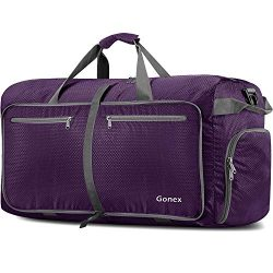 Gonex 150L Extra Large Duffle Bag, Packable Travel Luggage Shopping XL Duffel Purple
