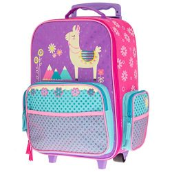 Stephen Joseph Kids' Toddler Classic Rolling Luggage, Llama, No No Size
