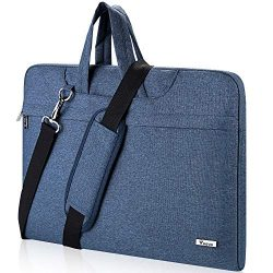 Voova Laptop Bag,14 15 15.6 Inch Laptop Sleever Bag Carrying Case Shoulder Bag with Strap Compat ...