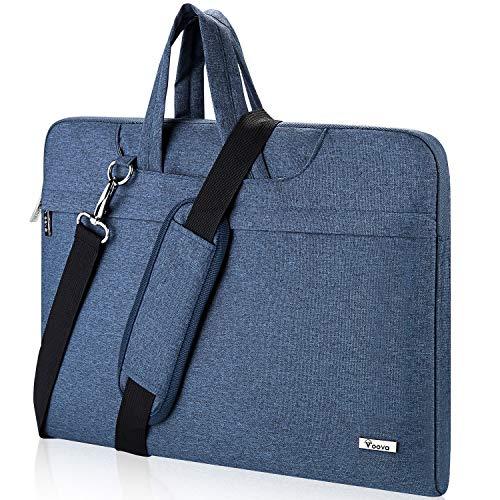 Voova Laptop Bag,14 15 15.6 Inch Laptop Sleever Bag Carrying Case Shoulder Bag with Strap Compat ...