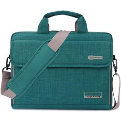 BRINCH Laptop Bag Oxford Fabric Portable Notebook Messenger Bag Shoulder Briefcase Handbag Trave ...