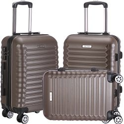 Luggage Sets Suitcase Lightweight Spinner Durable for Travels Double Wheels TSA Lock