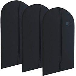 Black Suit Garment Travel Bags 3 Pack – 40″ X 24″ – By Your Bags