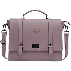 Briefcase for Women, 15.6 Inch Laptop Bag Business Work Bag Crossody Bags College Satchel Purse  ...