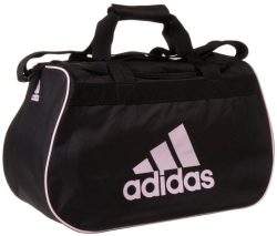 adidas Diablo Small Duffel Bag, Black/Diva, One Size