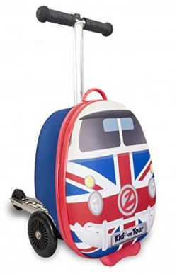 ZincFlyte Kid's Luggage Scooter 15″ – Union Jack