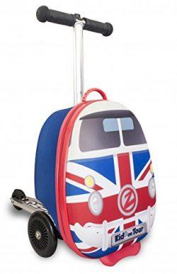 ZincFlyte Kid's Luggage Scooter 15″ – Union Jack