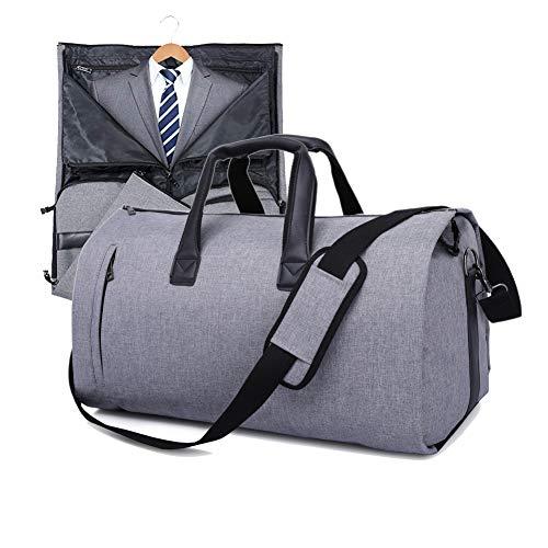 V-Vitoria Suit Duffel Bag with Shoulder Strap for Travel Business Carry on Foldable Garment Bag  ...
