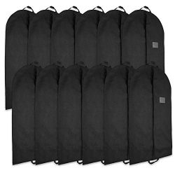 Blue Donuts 12 Garment Bags – 42 Inch Breathable Garment Travel Storage Shirt Dress Suit C ...