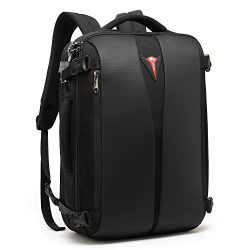 CoolBELL Weekender Backpack Anti-thfet Business Convertible Briefcase Backpack with TSA Lock Lar ...