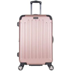 Heritage Travelware Logan Square 25″ Lightweight Hardside Expandable 8-Wheel Spinner Check ...