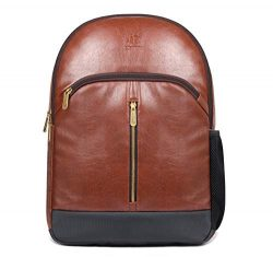 Herculean Laptop Backpack | 27 ltrs Synthetic Leather Backpack for 15.6″ Laptop | Casual T ...