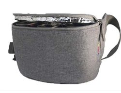 Gopacka Insulated Fanny Pack Cooler for Outdoors, Travel, Camping, Hiking, Sports Waist Pack Bag ...