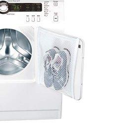Smart Design Sneaker Dryer & Wash Bag w/ Elastic Straps – Durable Fabric – for S ...