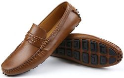 Mio Marino Mens Loafers – Italian Dress Casual Loafers for Men – Slip-on Driving Sho ...