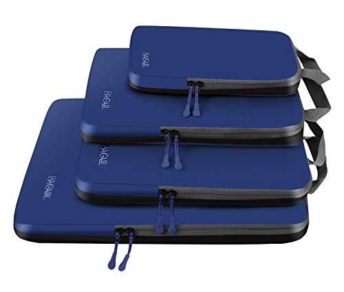 4 Set Compression Packing Cubes Travel Expandable Packing Organizers