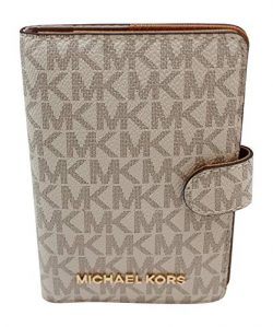 Michael Kors Jet Set Travel Passport Case Wallet (Vanilla PVC 2018)