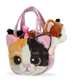 Aurora World Fancy Pals Purse Pet Carrier Esmeralda Kitty