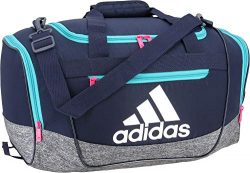 adidas Defender III Small Duffle Bag – Col Navy/Hi Res Aqua