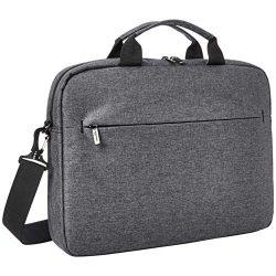 AmazonBasics Urban Laptop and Tablet Case Bag, 17 Inch, Grey