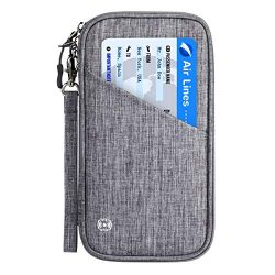 Vemingo Family Passport Holder with Accordion Design RFID – Blocking Travel Wallet Ticket  ...
