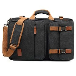 CoolBELL Convertible Briefcase Backpack Messenger Bag Shoulder Bag Laptop Case Business Briefcas ...