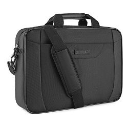 KROSER Laptop Bag 15.6 Inch Briefcase Laptop Shoulder Messenger Bag Water-Repellent Lightweight  ...