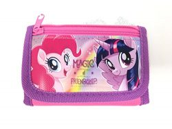 My Little Pony Wallet-Passport Bag- String Sling Tote Bag Backpack (PONY AND FRIEND WALLET)