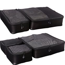 eBags Ultralight Travel Packing Cubes – Lightweight Organizers – Super Packer 5pc Se ...