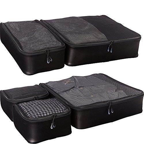eBags Ultralight Travel Packing Cubes – Lightweight Organizers – Super Packer 5pc Se ...