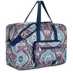 Travel Foldable Waterproof Duffel Bag – Lightweight Carry Storage Luggage Tote Duffel Bag. ...