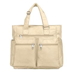 Waterproof Nylon Oxford Multi-pocket Tote Shoulder Bags Travel Laptop Briefcase Work Purse and H ...