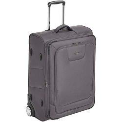 AmazonBasics Expandable Softside Rolling Luggage Suitcase With TSA Lock And Wheels – 26 In ...
