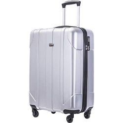 Merax Hardside Spinner Luggage with Built-in TSA Lock Lightweight Suitcase 20inch 24inch and 28  ...