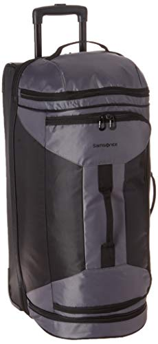 Samsonite 28 Inch Rolling Duffel, Riverrock/Black, One Size