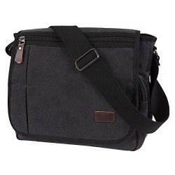 Laptop Messenger Bag, Modoker Military Crossbody Messenger Bag for Men, Casual Canvas Satchel Co ...