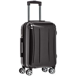 AmazonBasics Oxford Carry-On Expandable Spinner Luggage Suitcase with TSA Lock – 20 Inch,  ...