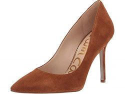 Sam Edelman Women's Hazel Luggage Suede Kid Suede Leather 9.5 W US