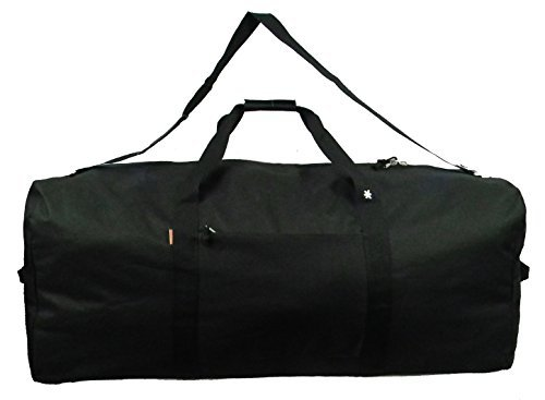Heavy Duty Cargo Duffel Large 42 Inch Sport Gear Drum Set Equipment Hardware Travel Bag Rooftop  ...