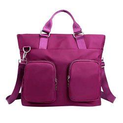 DDKK bags Multi Pocket Women Nylon Handbag-Large Capacity Travel Shopping Bag Working Tote Bag-W ...